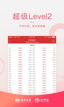 南京证券金罗盘截图