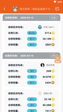 KS排行榜主播收入排行截图