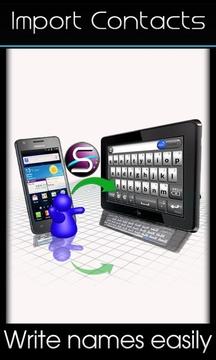 SlideIT键盘滑行输入法试用版截图
