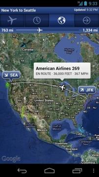 全球航班查询 FlightTrack Pro截图