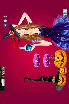 美丽的女巫打扮游戏  Beautiful Witch截图