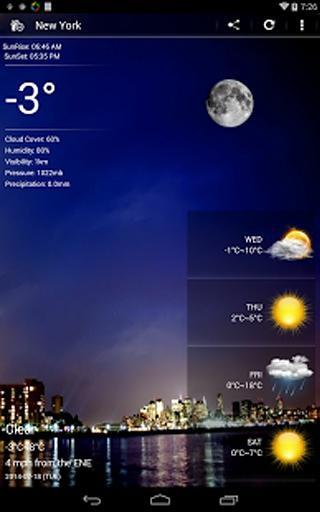 Weather Pro截图