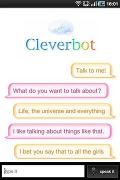 智能对话 Cleverbot截图