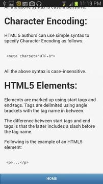 Learn HTLM5截图